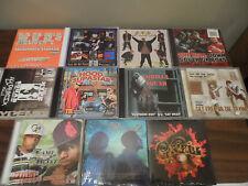 CD Lot of 11 RAP CD's Tee GORILLA SQUAD Game Spittaz HYPE SQUAD Hood Supastar