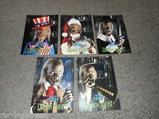 DEMON KNIGHT - TALES FROM THE CRYPT - SET OF 5 CRYPTKEEPER PROMO POSTCARDS