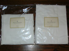 POTTERY BARN DINING CHAIRSKIRT SIDE CHAIR COVER SET OF 2 NEW