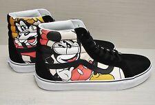 Vans X Disney SK8 Hi Reissue Mickey & Friends Black VN-0ZA0GHE Men's Size: 10.5