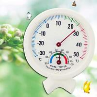 Hot Indoor Outdoor Wet Hygrometer Humidity Thermometer Temp Temperature Meter LN
