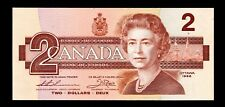1986 Canada 2 Dollars Paper Money Gem Uncirculated (A6)
