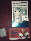 Proactiv HELLO KITTY CLEANSING BRUSH LIMITED EDITION & MAKEUP BAG NEW
