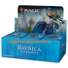 RAVNICA ALLEGIANCE - Booster Box MTG MAGIC -SEALED English - CollectorsAvenueCom