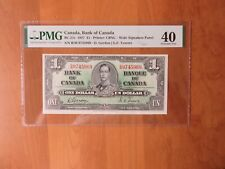 """1937 CANADA BC-24c $1 PMG 40 """"KING GEORGE VI"""" Bank of Canada"""