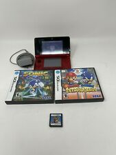 Nintendo 3DS RED CTR-001 Handheld Console (CTR-S-USZ-C0)