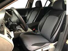 Sitzbezüge Schonbezüge für Seat Leon schwarz-grau V1723361 Vordersitze
