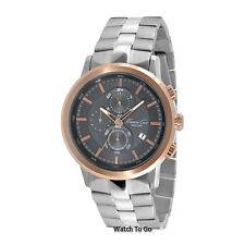 NEW KENNETH COLE WATCH for Men * Gunmetal Dial * Chronograph * KC9258