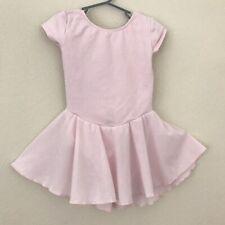 Motion Wear Child Dress Ballet M Medium 8 - 10 Pink Short Sleeve Stretch