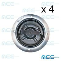 4x Rotating Recessed Heavy Duty D Ring Floor Anchor Toy Hauler Trailer Tie Down