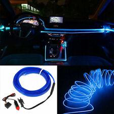 5M EL Wire Blue Cold light Neon Lamp Atmosphere Lights Unique Accessories Decor