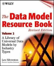 The Data Model Resource Book, Vol. 2: A Library of Data Models for Specific Indu