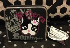 A Very Cute Rare Rebecca Bonbon Black Cotton Wallet