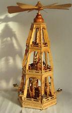 Christbaumschmuck Pyramide Erzgebirge Weihnachtspyramide Krippe Figur 73cm Hoch