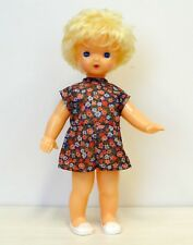 1970s Ussr Soviet Russia Plastic Large Size Blond Doll Tall is 54 cm in Original