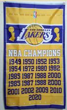 Los Angeles Lakers World Champions 2020 Flag 3X5 FT Basketball NBA Banner