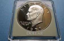 """>>S-PROOF>> 1977S  EISENHOWER DOLLAR/LIBERTY BELL """"S-PROOF""""Uncirculated COIN #3"""