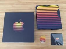 Apple Store Fukuoka Japan Open Memorial Tote Bag Sticker Pins Set Limited