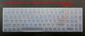 US Keyboard Silicone Skin Protector for HP 15-BS 15-BW 15g-BX 15q-BU 15-BY 15-CC