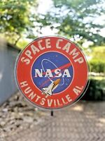 "NASA Space Camp Sticker Glossy Decal Huntsville Alabama Space Shuttle Rocket 3"""