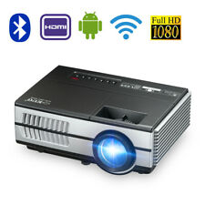 New listing 3000lm Led Hd WiFi Projector Android 7.1 Blue-tooth Home Theater Wlan Online App