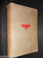 SIGNED & INSCRIBED COPY: Dennis Wheatley: Red Eagle 1937-1st Russian Revolution