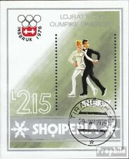 Albania block59 (complete issue) used 1976 olympic. Winter Game