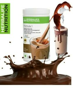 Herballife Shake Chocolate Flavor Formula1 Meal Replacement For Weight loss 500g