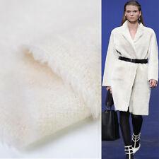 Pure white 100% pure alpaca fabric 500g/meter amazing quality very soft,WF143