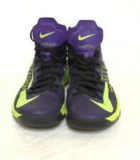 NIKE ZOOM HYPERDUNK Shoes Sneaker 11.5 Men's 524934-500 Purple Green Basketball