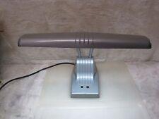 Vintage Atomic Dazor Twin Gooseneck Flexible Desk Lamp Model 1000 Mid Century