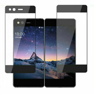 Full Covered Tempered Glass Front+Back Screen Protector For ZTE Axon M New