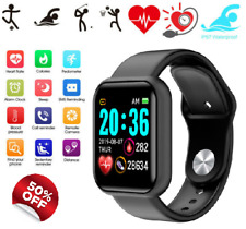 Waterproof Bluetooth Smart Watch  Fitness Tracker For Android IOS Global