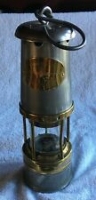 More details for wolf type no 7 r.m.b.s miners safety lamp. w morris sheffield on glass 60(mp)60