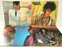 Angela Bofill Lot of 6 Vinyl Record Albums Something About Angel Night STERLING