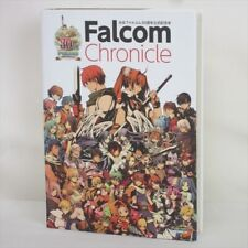 FALCOM CHRONICLE 30th Anniversary Art Book Fanbook Ys Dragon Slayer MW49*