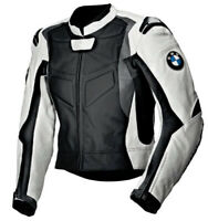 BMW Motorcycle Jackets Biker Racing Leather Motorbike Sports Armor Adults Jacket