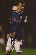 ROCHDALE: ANDREW TUTTE SIGNED 6x4 ACTION PHOTO+COA