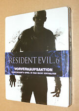 Resident evil 6 new & sealed Pre-order Box / Steelbook ( G2 PS3 ) NO GAME