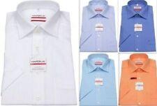 Camicie classiche da uomo a manica corta in cotone regolare