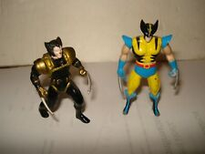 "Marvel -X Men Wolverine Die-Cast Metal 3"" Figures - Two"
