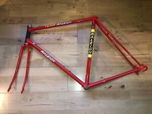 Vintage Team Raleigh Frame and Forks size 57cm