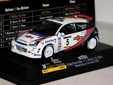 FORD FOCUS WRC MARTINI #5 C. MCRAE WINNER RALLY CATALUNYA 2000 SKID SKW018 1/43