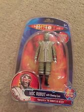 Doctor Dr Who VOC ROBOT with Glowing Eyes figure Robots of Death - new