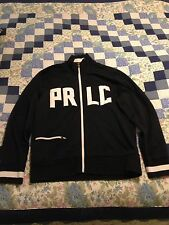 "Vintage Polo Ralph Lauren Track Jacket Men's M Embroidered ""PRLC"""
