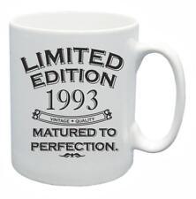 25th Nouveauté Cadeau D'Anniversaire Thé Tasse 1993 mûri à la Perfection Limited Tasse à café