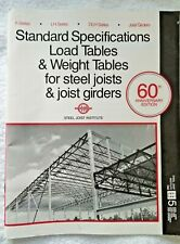 1988 Steel Joint Institute Specifications Guide Steel Joists & Joist Girders