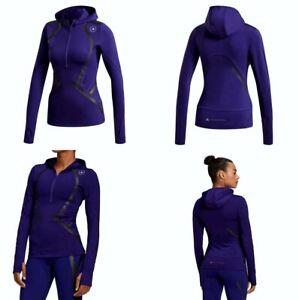 Adidas X Stella McCartney Trupace Hooded Midlayer Medium Purple Color FU0292