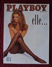 Playboy Magazine May 1994 ~ Elle Macpherson NUDE + Shae Marks Centerfold