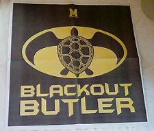 Maryland Terps Terrapins Basketball Blackout Butler Newspaper Giveaway 11/15/17